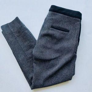 Skinny Grey Cigarette Pants